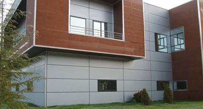 Perfiles mecar delegaci n comercial arag n construcci n for Paneles aislantes para fachadas